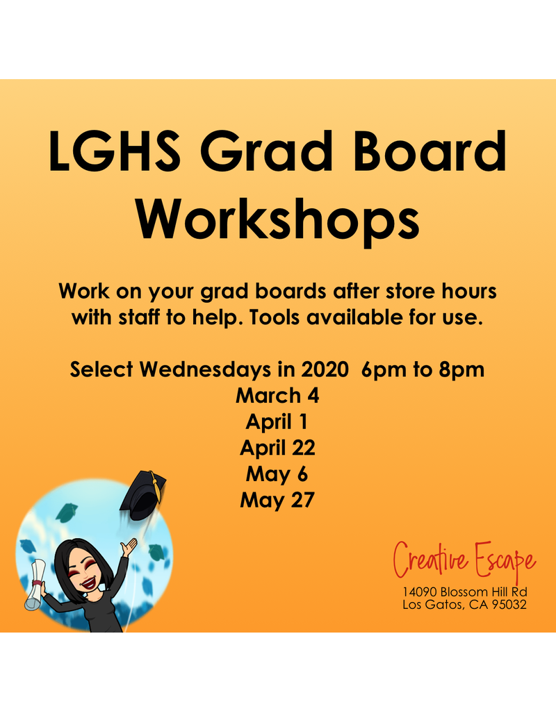 Creative Escape LGHS Grad Board Workshop