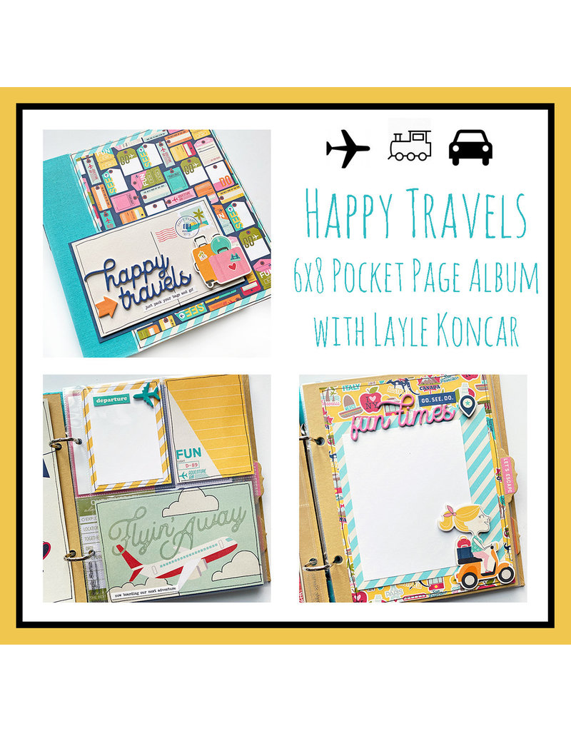 Layle Konar 03/27 Happy Travels with Layle