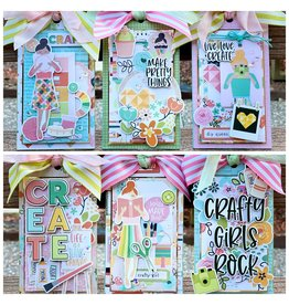 Nikki Sher 04/11 Crafty Girl Tags with Nikki