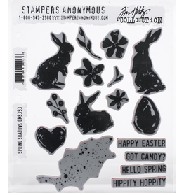 stampers anonymous SA TH Springtime Shadows Stamp
