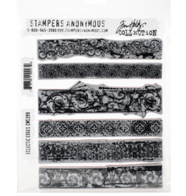 stampers anonymous SA TH Eclectic Edges Stamp