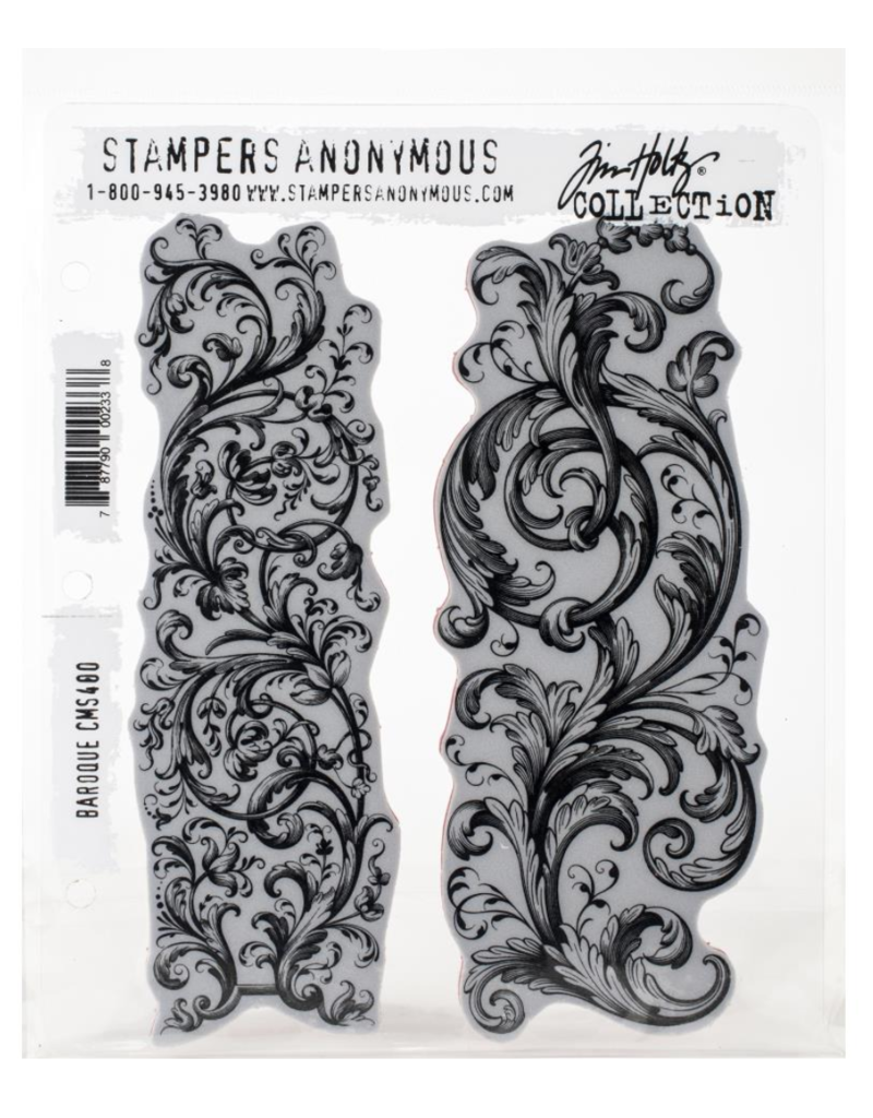 stampers anonymous SA TH Baroque Stamp