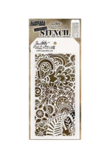 stampers anonymous SA TH Doodle Art 2 Layered Stencil