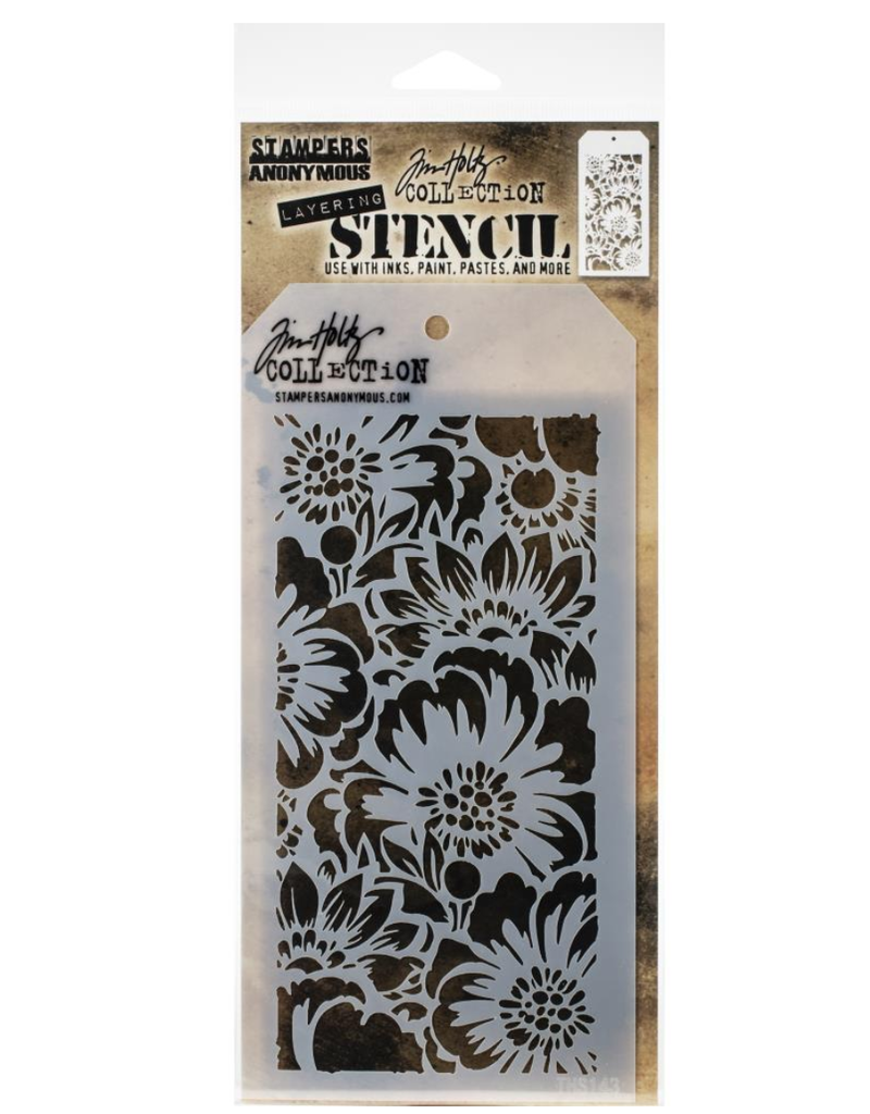stampers anonymous SA TH Bouquet Layered Stencil