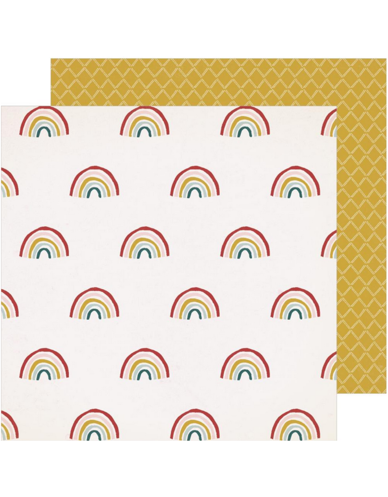 american crafts AC CP paper Magical Forest Sunlight