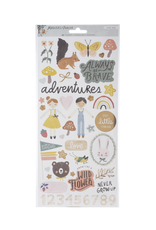 CRATE PAPER CP MH Magical Forest Stickers w/ copper accents