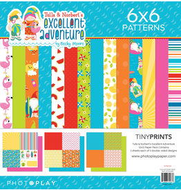Photoplay PP Paper PackT&N's  Excellent Adventure 6x6 Quad
