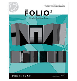 Photoplay PP FOLIO 2 6x8 - Black