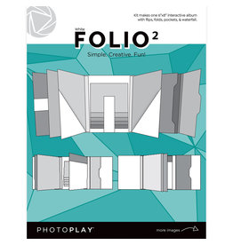 Photoplay PP FOLIO 2 6x8 - White