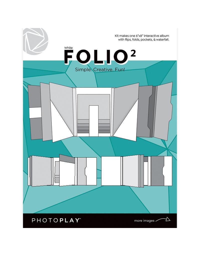 Photoplay PP FOLIO 2 6x8 - White