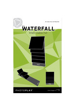 Photoplay PP 4x4 Black Waterfall Mechanical (makes 3 sets)