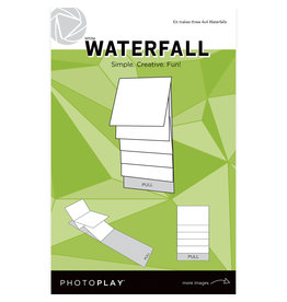 Photoplay PP 4x4 White Waterfall Mechanical (makes 3 sets)