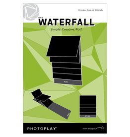 Photoplay PP 4x6 Black Waterfall Mechanical (makes 3 sets)