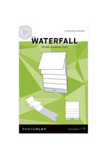 Photoplay PP 4x6 White Waterfall Mechanical (makes 3 sets)