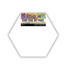 RANGER Ranger Alcohol Ink Hard-Core Art Panel Hexagon