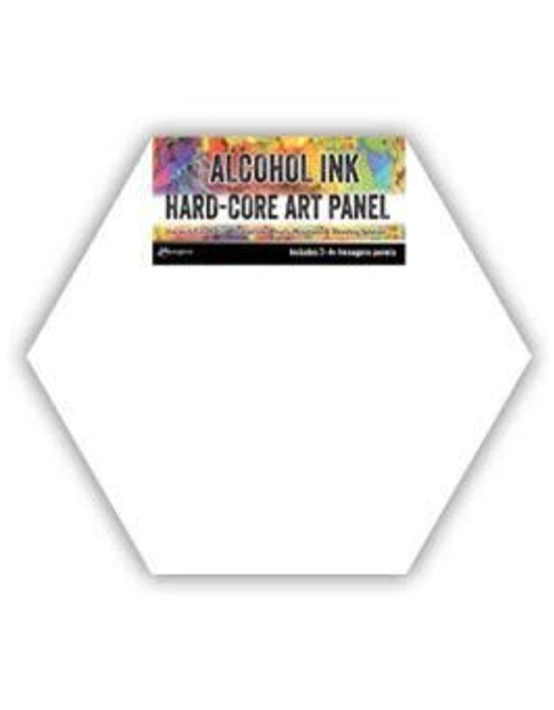 RANGER Ranger Alcohol Ink Hard-Core Art Panel Hexagon