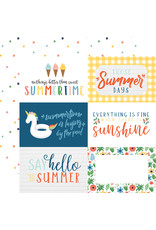 Echo Park EP Paper Summertime: 6X4 Journaling Cards