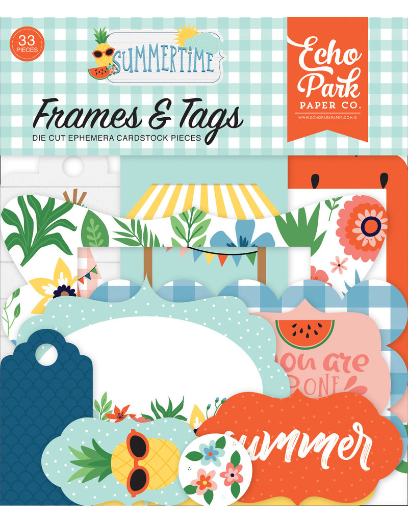 Echo Park EP Summertime Frames & Tags