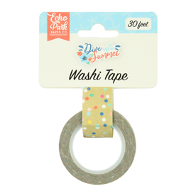 Echo Park EP Washi Tape -Good Vibes Dot
