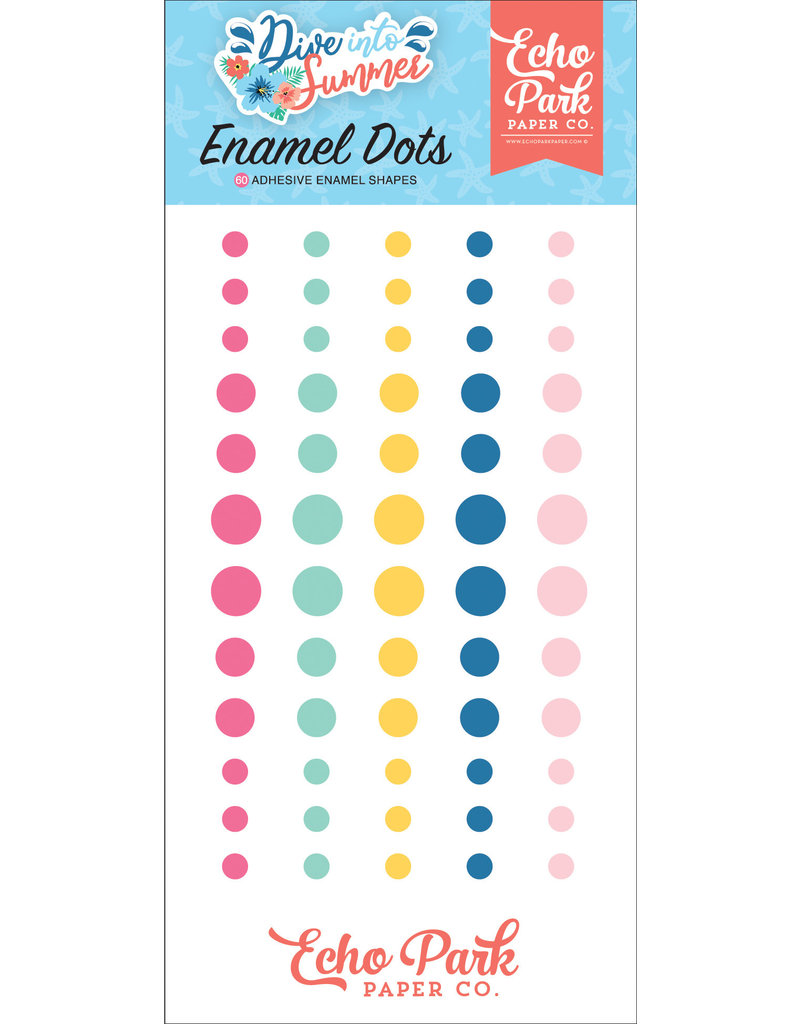 Echo Park EP Dive Into Summer Enamel Dots