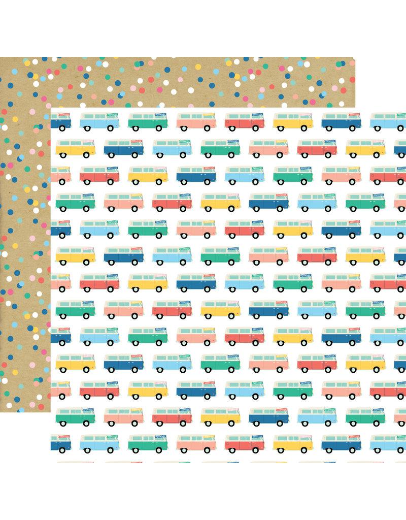 Echo Park EP Paper Dive into Summer: Adventure Bus