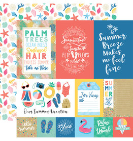Echo Park EP Paper Dive into Summer: Multi Journaling Cards