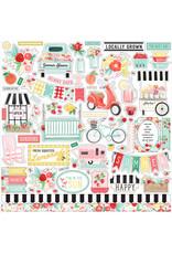 Carta Bella CB Summer Market Element Sticker