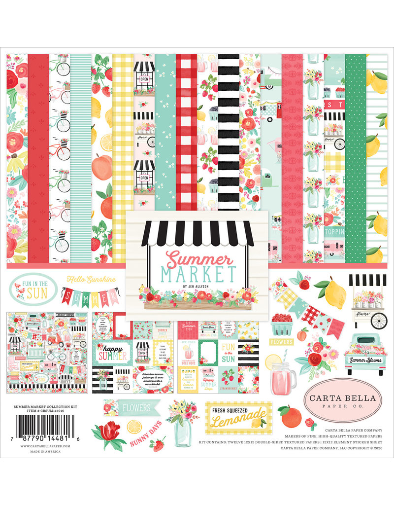 Carta Bella CB Summer Market Collection Kit