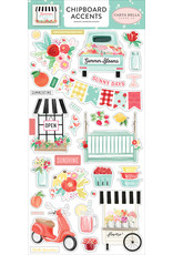Carta Bella CB Stickers Summer Market 6x13 Chipboard Accents