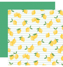 Carta Bella CB Paper Summer Market Lovely Lemons