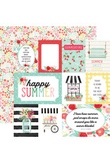 Carta Bella CB Paper Summer Market Journaling Cards