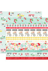 Carta Bella CB Paper Summer Market Border Strips