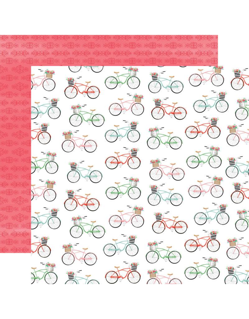 Carta Bella CB Paper Summer Market Bikes