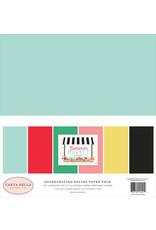 Carta Bella CB Paper Pack Summer Market Summer Market Solids Kit