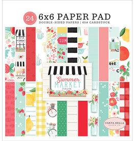 Carta Bella CB Pad Summer Market 6x6