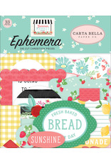 Carta Bella CB Ephemera Summer Market