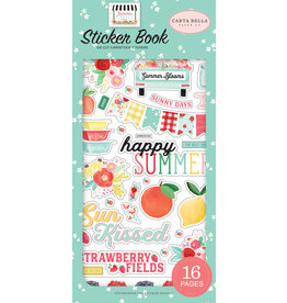 Carta Bella CB  Summer Market Sticker Book