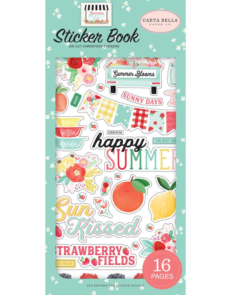 Carta Bella CB  Summer Market Sticker Book