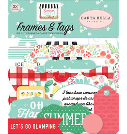 Carta Bella CB  Summer Market Frames & Tags