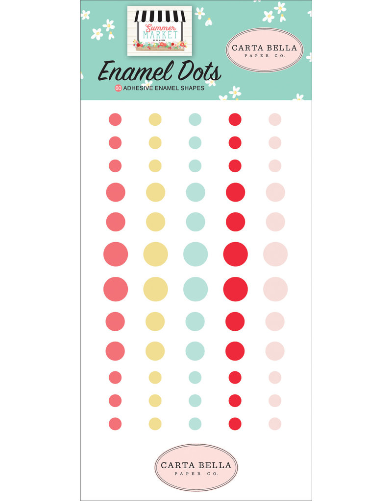 Carta Bella CB  Summer Market Enamel Dots