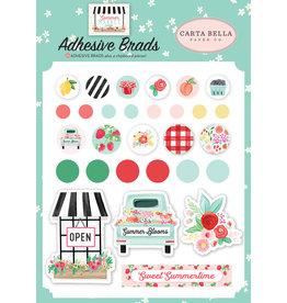 Carta Bella CB  Summer Market Adhesive Brads