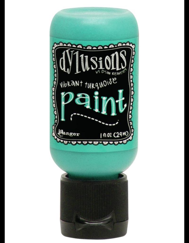 RANGER Dylusions Paint Vibrant Turquoise