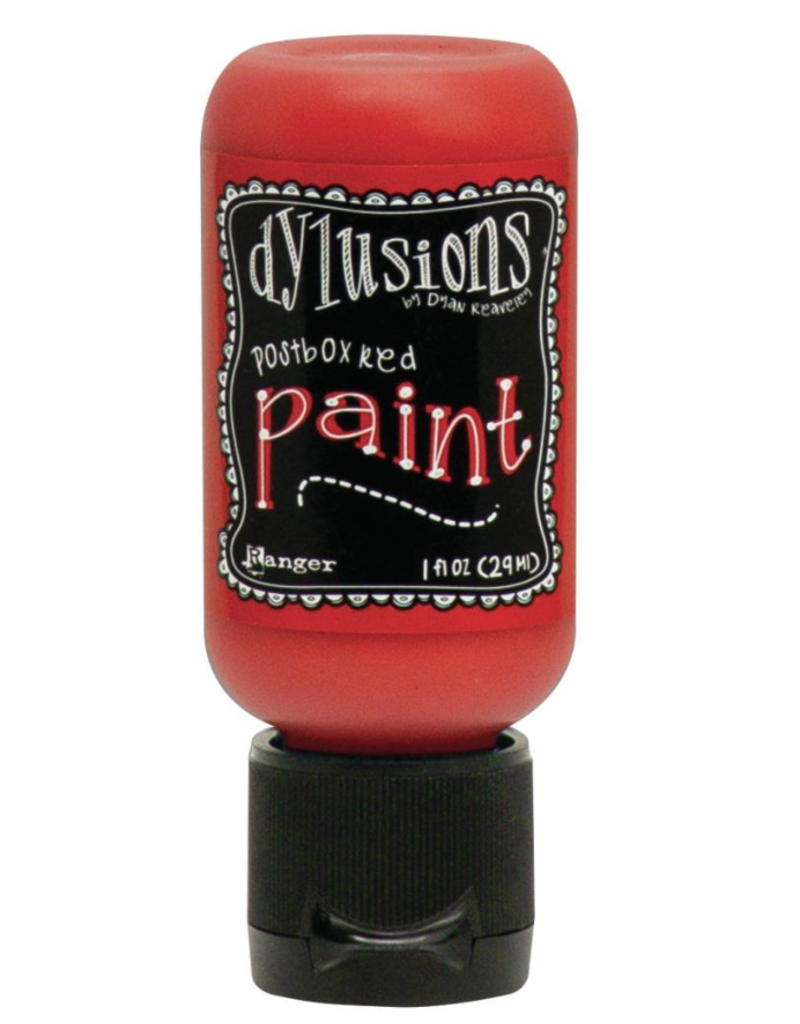 RANGER Dylusions Paint Postbox Red