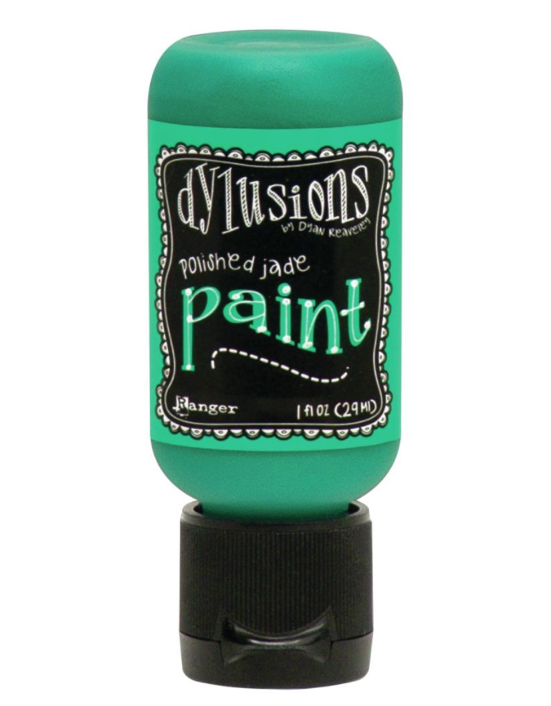 RANGER Dylusions Paint Polished Jade