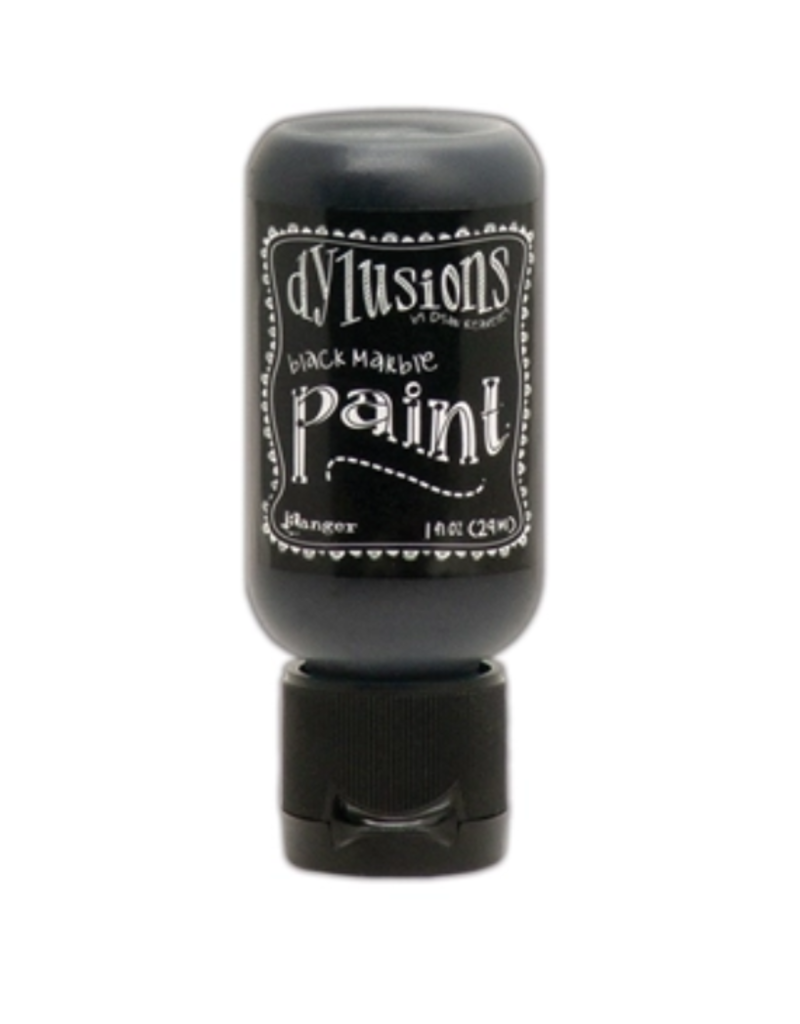 RANGER Dylusions Paint Black Marble