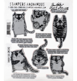 stampers anonymous TH Stamp Snarky Cat