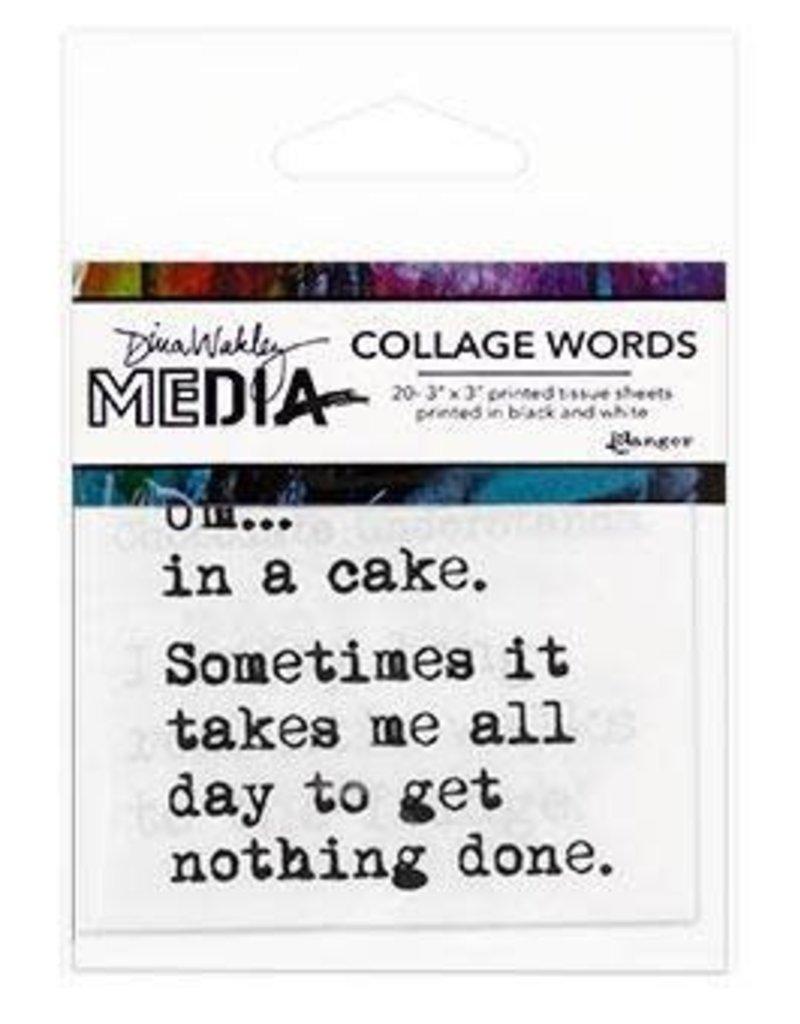 RANGER Ranger Dina Wakley Collage Words