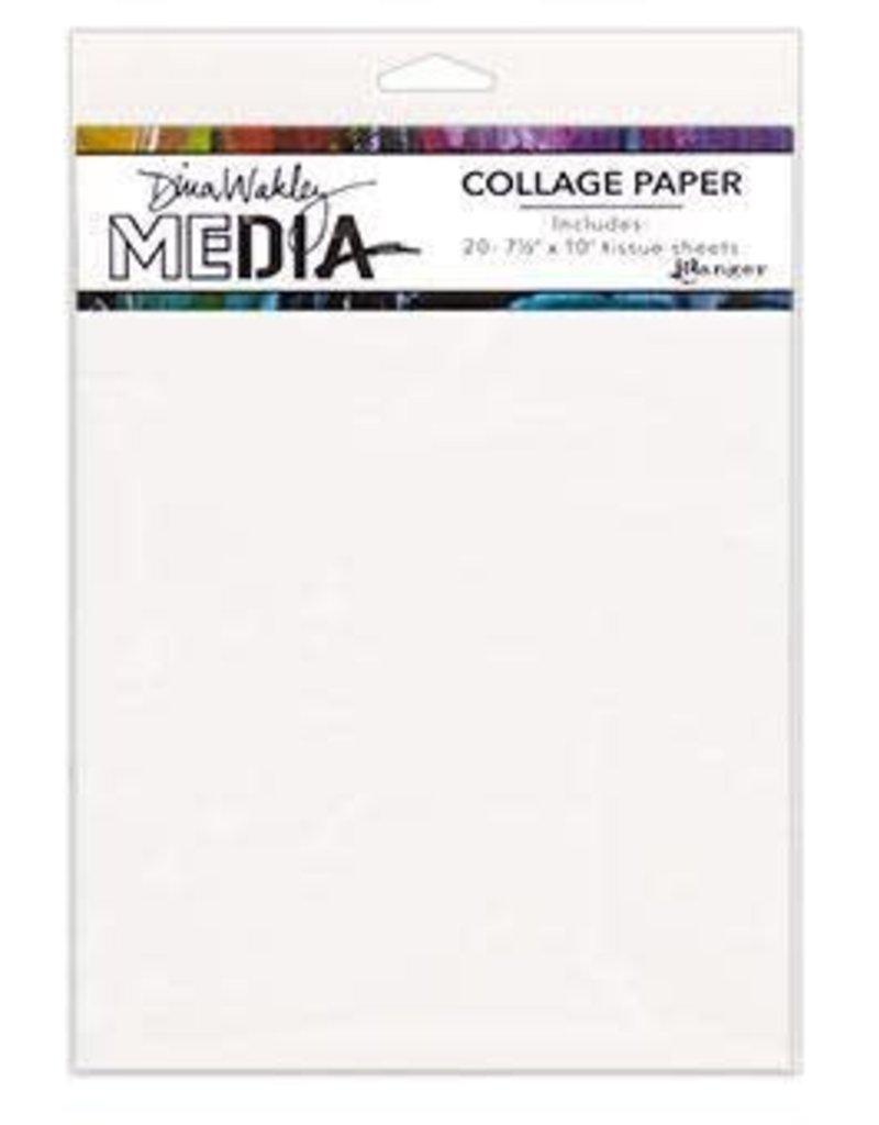 RANGER Ranger Dina Wakley Collage Paper (Plain)