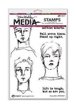 RANGER Ranger Dina Wakley Stamps Strong Men