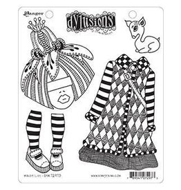 RANGER Dylusions Stamp Maisie Lilly